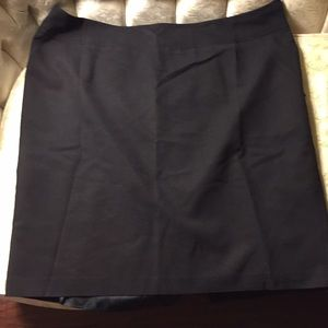 Rafaela designer skirt with zipper and lining.